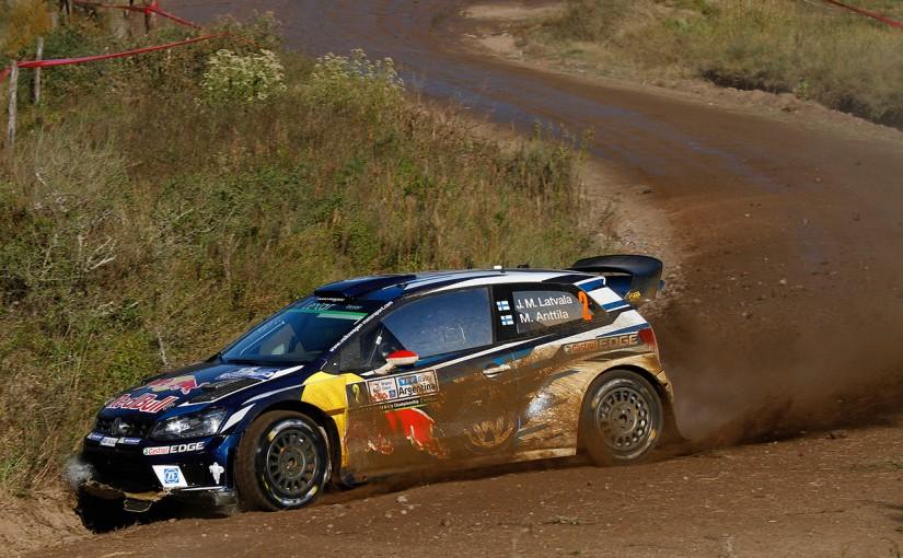 ラリー/WRC   WRCアルゼンチン:オジェを抑えラトバラが初日トップに