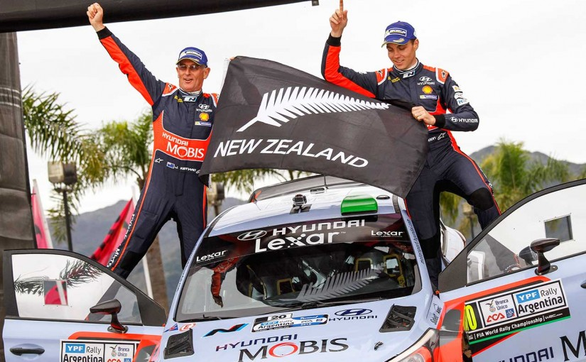 ラリー/WRC | WRCアルゼンチン:ヒュンダイのパッドン、オジエを退け初優勝。チームにWRC2勝目をもたらす