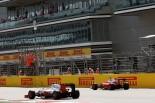 F1 | ハミルトンが唯一の37秒台でトップ。ベッテルは2番手タイムもトラブル発生!