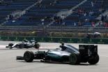F1 | ハミルトン「氷の上を走っているよう。クレージーなコンディション」:メルセデス ロシア金曜