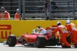 F1 | ベッテルにさらなる不運。ギヤボックス交換で降格へ。同士討ちでダメージ