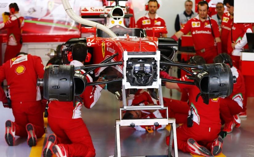F1   ベッテル「電気系トラブルでストップ。競争力を確認できなかった」:フェラーリ ロシア金曜