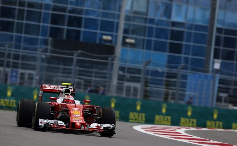 F1 | ライコネン「新エンジン? まだ分からないけど悪いはずない」:フェラーリ ロシア金曜