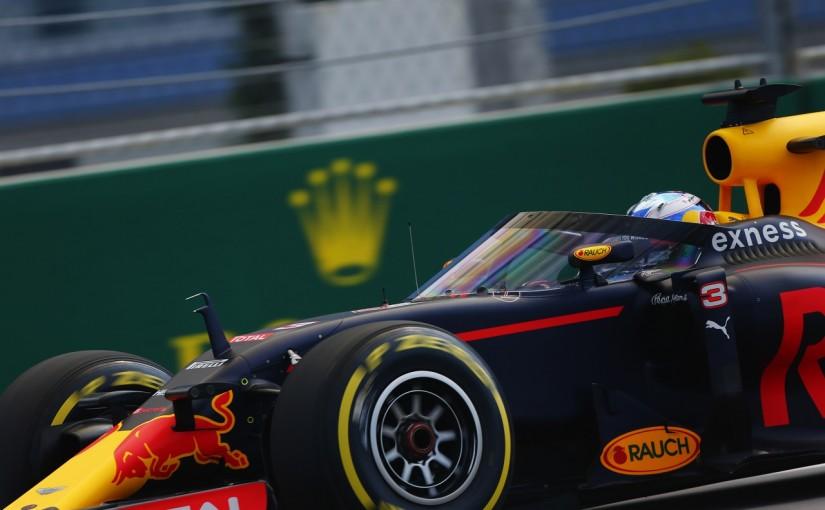 F1 | リカルド「エアロスクリーンは視界良好。夜に試すのが楽しみ」:レッドブル ロシア金曜