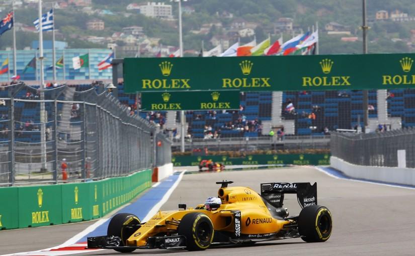 F1 | シロトキン「13位。チームメイトより速くて驚いた」:ルノー ロシア金曜