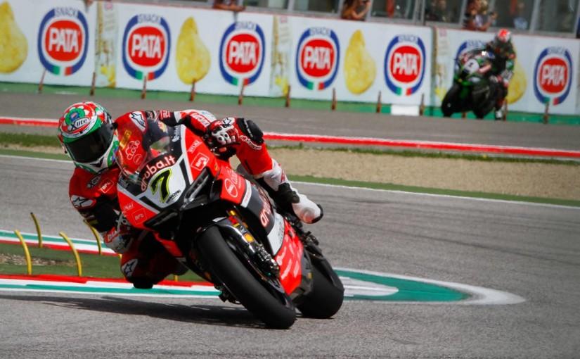 MotoGP   SBK第5戦イタリア レース1:チャズ・デイビスがトップ独走でポール・トゥ・ウイン