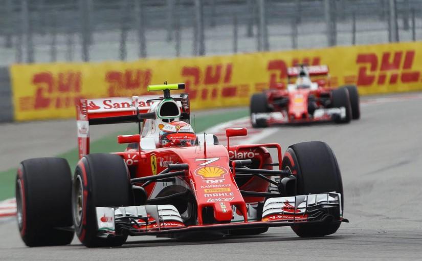 F1 | ライコネン「新エンジンっていっても大変更はしてない」:フェラーリ ロシア土曜