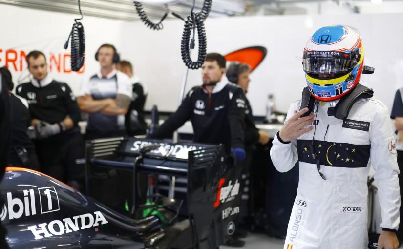 F1 | アロンソ「明暗を分ける0.2秒が僕らには足りない」:マクラーレン・ホンダ ロシア土曜