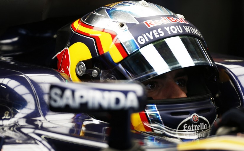 F1 | サインツJr.「クビアトにQ3入りを邪魔されて怒ってる」:トロロッソ ロシア土曜