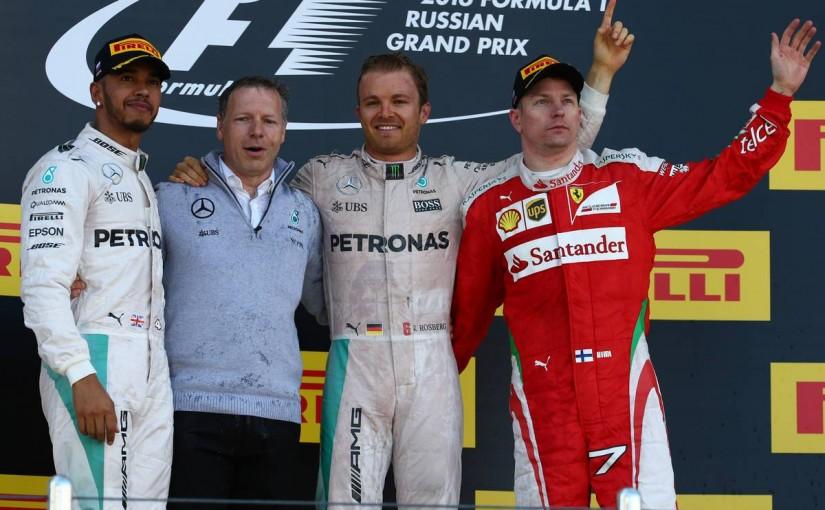 F1 | ロズベルグ、開幕4連勝! ハミルトンは問題を抱えながら2位。ホンダW入賞