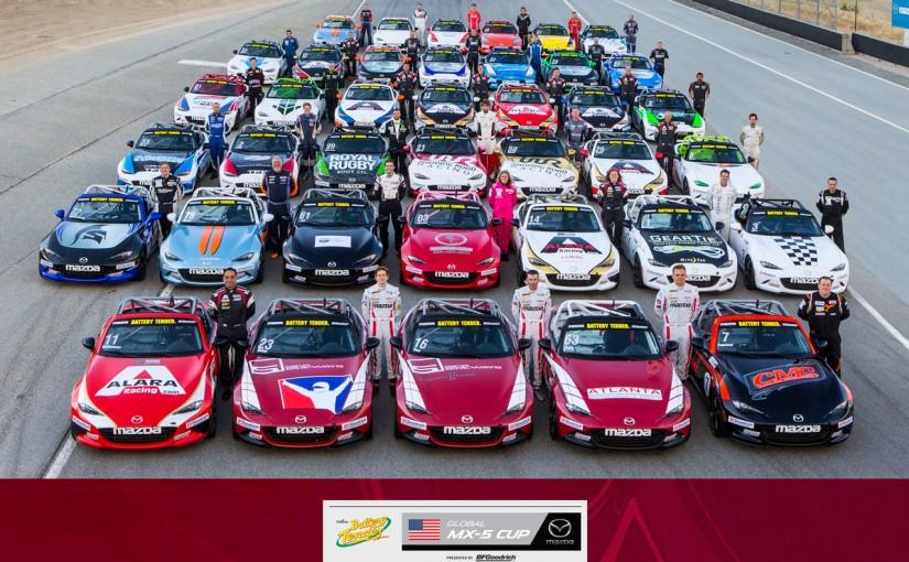 バッテリーテンダー・グローバルMX-5カップ・プレゼンテッド・バイ・BFグッドリッチタイヤ開幕戦ラグナセカ