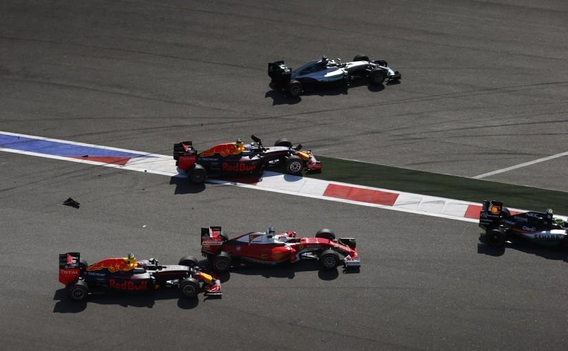 F1 | リカルド「クビアトは皆に謝る義務がある」:レッドブル ロシア日曜