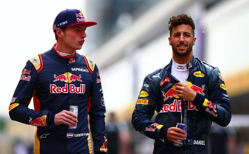 F1 | 公式発表:レッドブル、スペインGPからフェルスタッペンとリカルドのコンビに