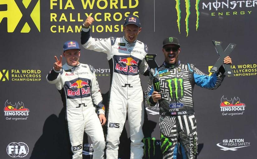 ラリー/WRC | 世界ラリークロス第2戦:アウディがワン・ツーフィニッシュ。フル参戦2戦目のブロックが3位表彰台