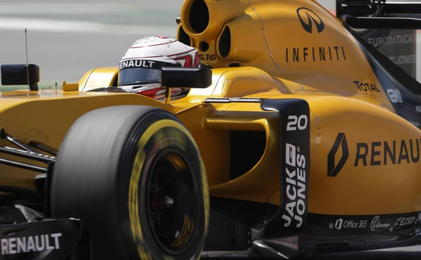 F1 | マグヌッセン「渾身の力を振り絞り、最大限の結果をつかんだ」:ルノー スペイン土曜