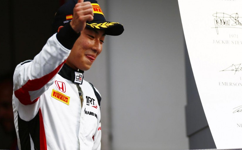 海外レース他 | 【順位結果】GP3第1戦バルセロナ 決勝レース1
