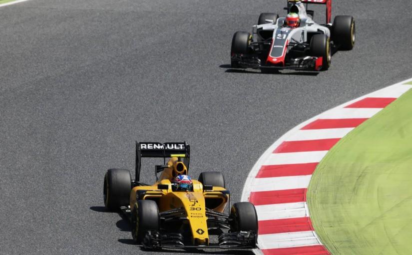 F1 | パーマー「僕にとってベストレース。アップグレードが楽しみ」:ルノー スペイン日曜