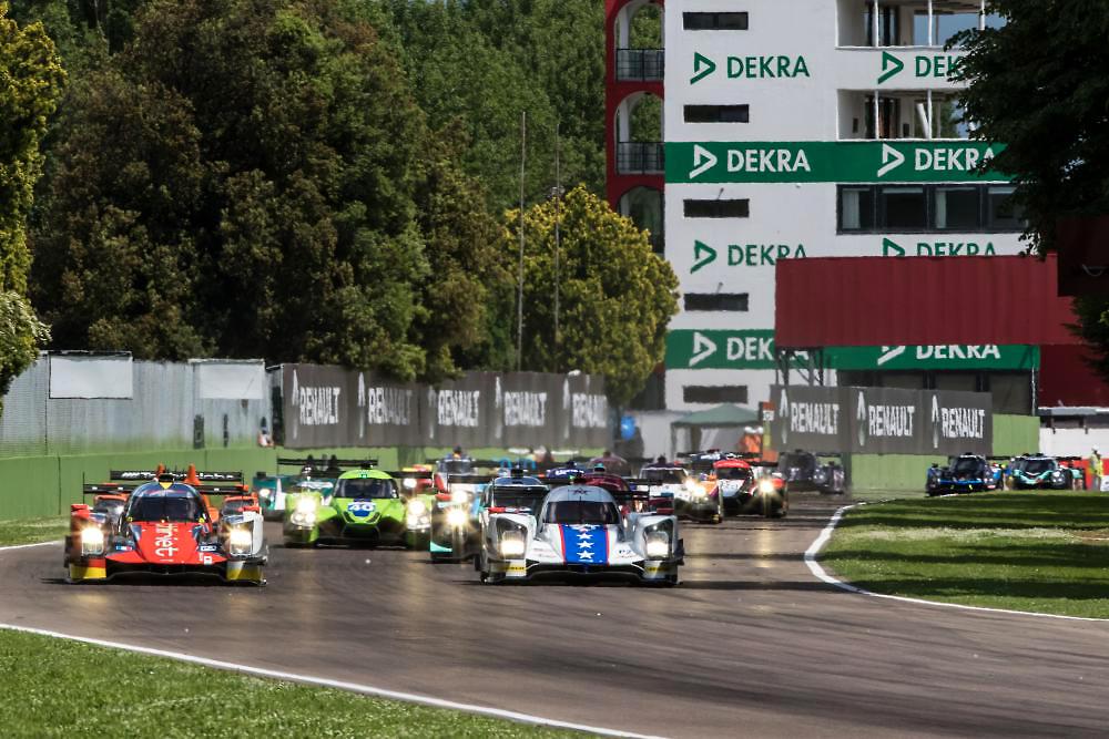 ELMS第2戦イモラ:ティリエ・バイ・TDSレーシング46号車が優勝。平川亮がELMS初制覇!