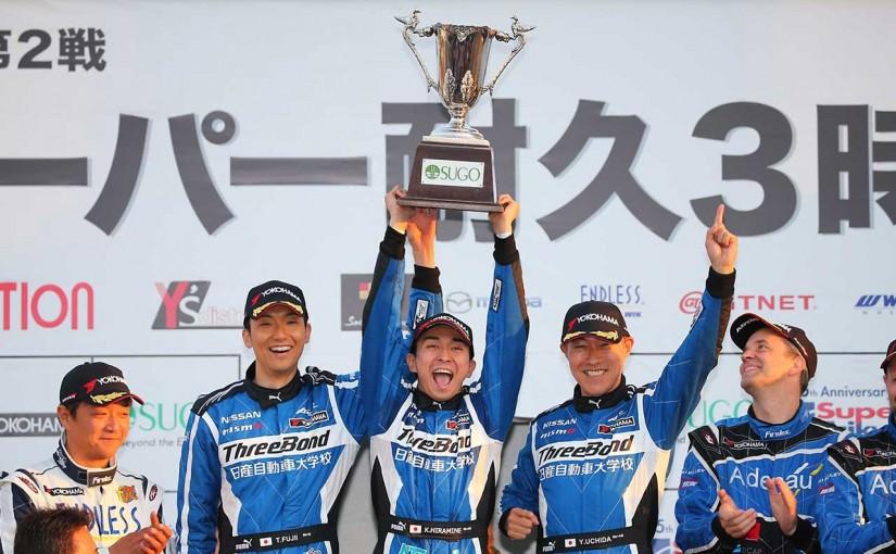 国内レース他 | スーパー耐久第2戦:グループ1は3度のSC導入。24号車GT-Rが開幕2連勝飾る