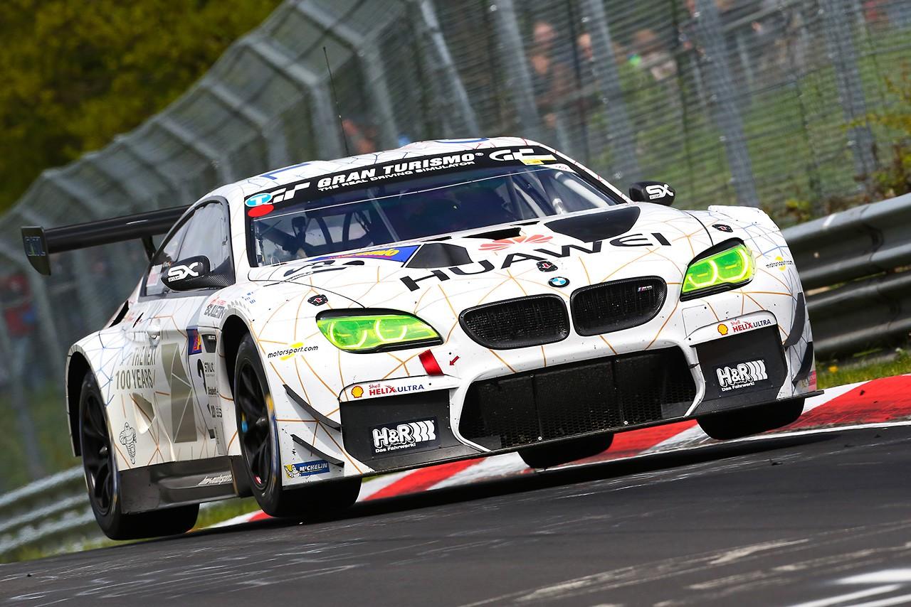 VLN3:BMW M6 GT3が表彰台を独占。スバルWRX STIも復活しクラス2位を獲得