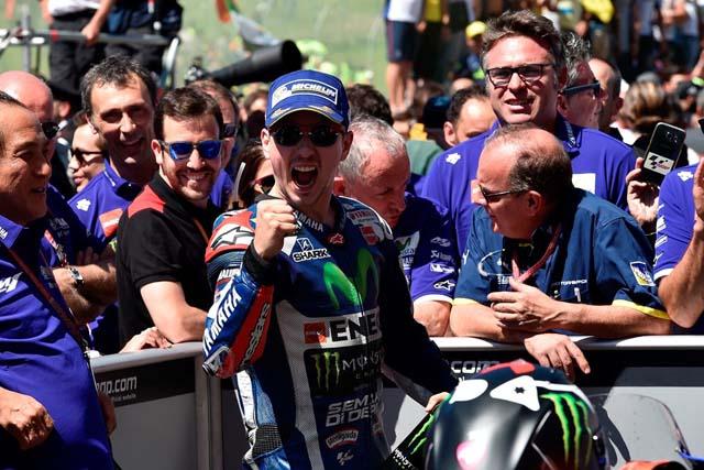 MotoGP | MotoGP第6戦イタリアGP 決勝トップ3コメント:ロレンソ「予想していなかった勝利だ」