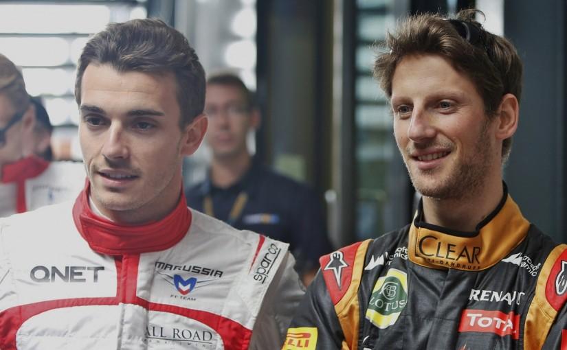 F1 | ビアンキの思い出の地モナコへ。グロージャン、友人しのびスペシャルヘルメットを着用