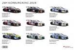 ル・マン/WEC | アウディ、ニュル24時間に過去最多9台のR8 LMSをエントリー