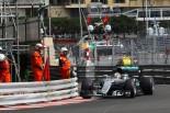 "F1 | 荒れるモナコ。フリー走行1回目はハミルトンがトップ、ロズベルグを""不運""が襲う"