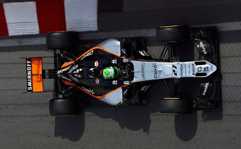 F1 | メカUPDATE:フォース・インディア、フロアのスリットを「フェラーリ型」に