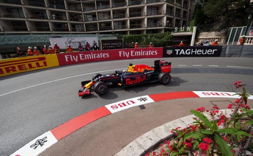 F1 | リカルド唯一の14秒台でトップタイム! モナコ初日にメルセデスを寄せつけず
