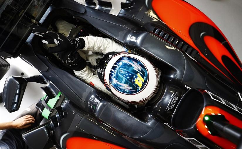 F1   アロンソ「バトンの事故でキャノピーの必要性を再認識」:マクラーレン・ホンダ モナコ木曜