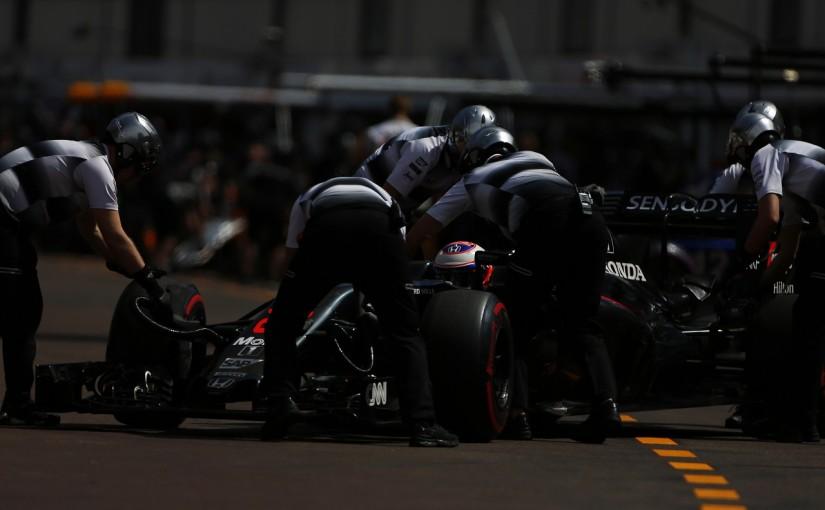 F1   バトン「二度とこんな事故に遭いたくない」:マクラーレン・ホンダ モナコ木曜