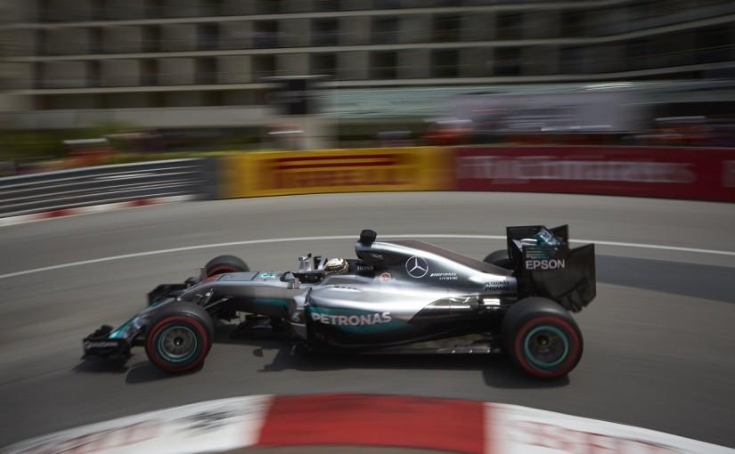 F1   ハミルトン「レッドブルがここまで速いとは…」:メルセデス モナコ木曜