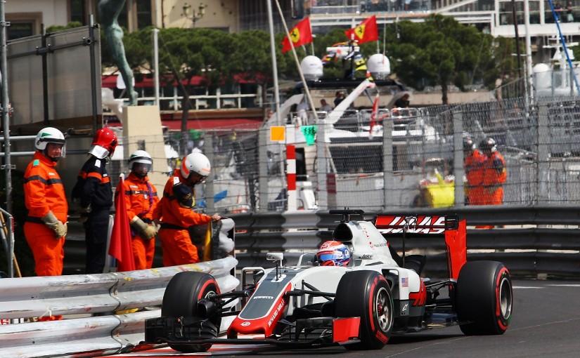 F1 | グロージャン「ミスしてウォールにヒットした」:ハースF1 モナコ木曜