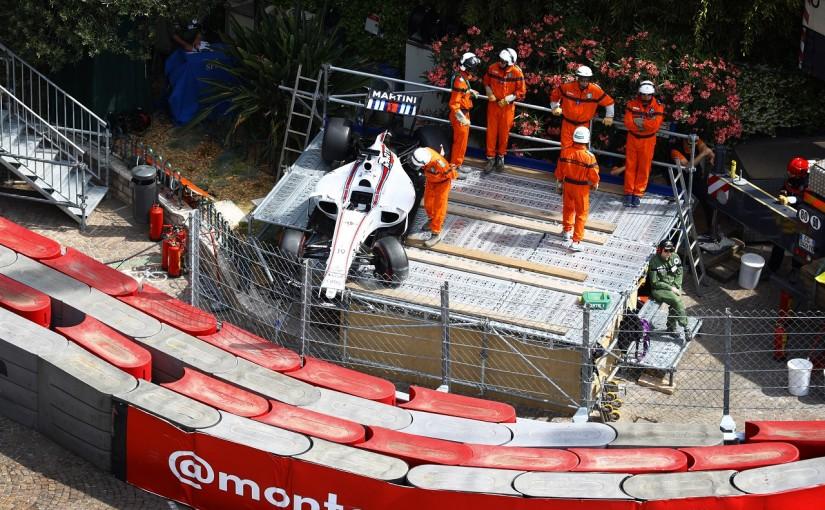 F1   マッサ「ミスでクラッシュ。モナコではよくあること」:ウイリアムズ 木曜