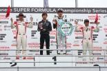 2016スーパーフォーミュラ第2戦岡山 決勝レース表彰台