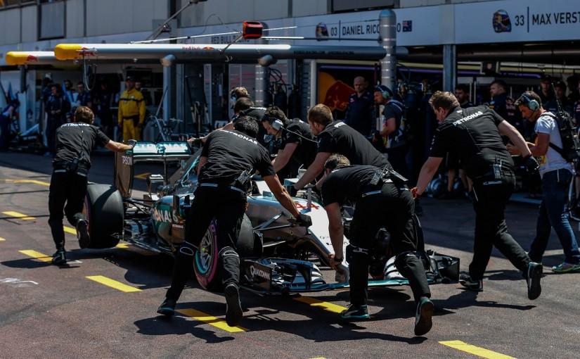 F1 | ハミルトン「またトラブルでPP逃した。言葉が見つからない」:メルセデス モナコ土曜