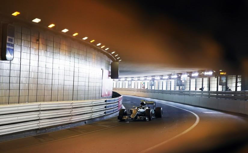 F1 | ロズベルグ「驚いた! 今日のダニエルにはかなわない」:メルセデス モナコ土曜