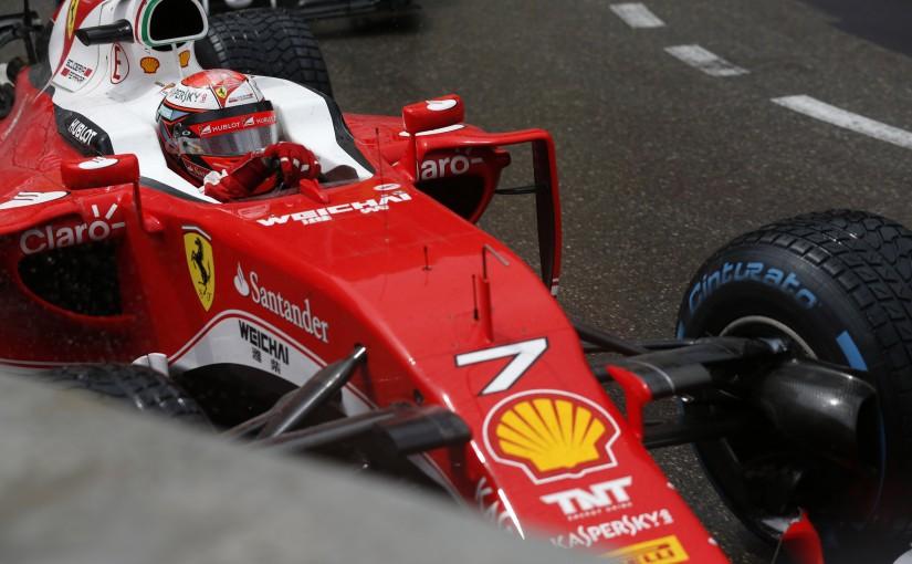 F1 | ウエットで始まったモナコGP、ライコネンはヘアピンで接触してリタイア