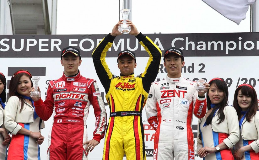 国内レース他   全日本F3第6戦岡山:ルーキーが表彰台独占。マーデンボローが全日本F3初優勝