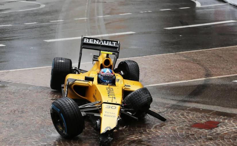 F1   パーマー、トリッキーなマシン特性に苦言「僕たちはクラッシャーじゃない!」