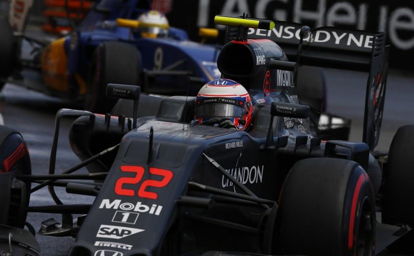 F1 | バトン「戦略でつかんだポイント。でもミスが残念」:マクラーレン・ホンダ モナコ日曜