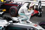 F1 | ハミルトン「最高の44勝目。運もあったが戦略は自分で決めた」:メルセデス モナコ日曜