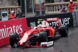 F1 | ライコネン「グリップがなくウォールにヒット」:フェラーリ モナコ日曜