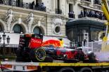 F1 | フェルスタッペン「クラッシュした自分にがっかり」:レッドブル モナコ日曜