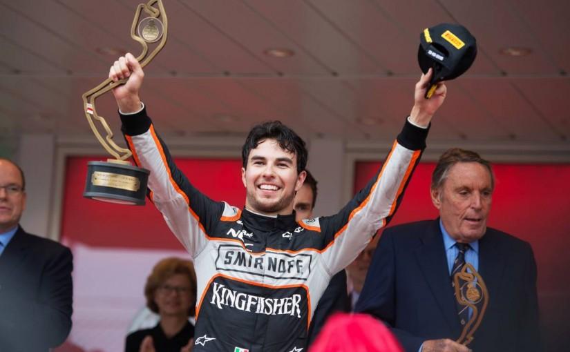 F1 | モナコの「ドライバー・オブ・ザ・デー」は、今季も表彰台に来たペレスが受賞