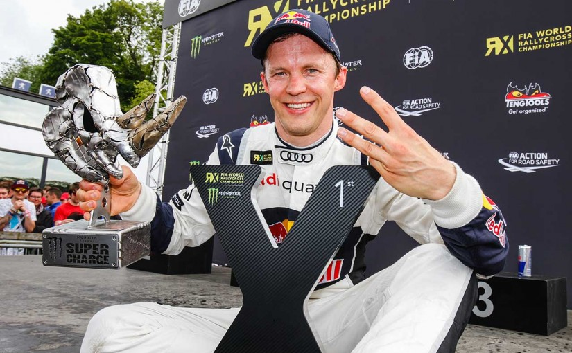 ラリー/WRC | 世界ラリークロス第4戦:ソルベルグ抑え、エクストロームが3連勝飾る