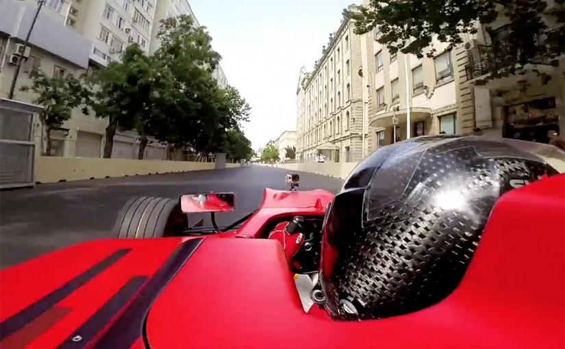 F1 | 【動画】バクー・シティ・サーキット、テスト走行のオンボード映像を初公開