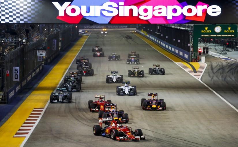 F1 | ウルトラソフトが4度目の登場。シンガポールGPのタイヤ選択決定