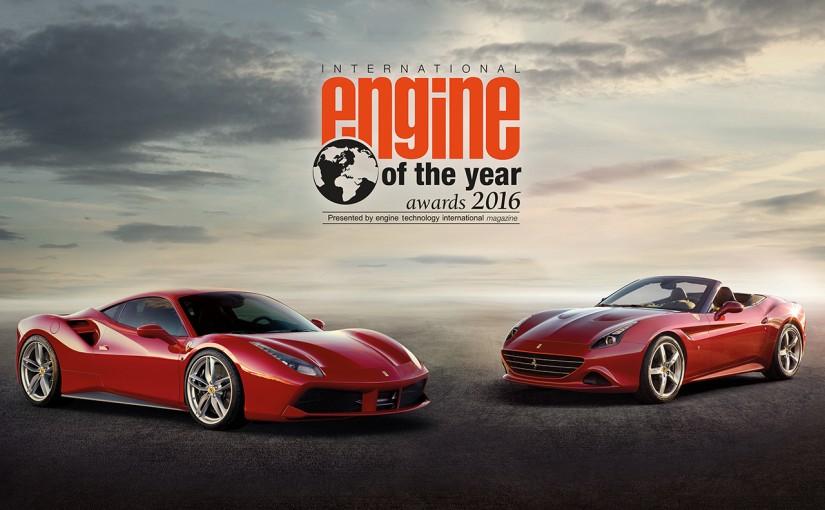 クルマ   フェラーリ、インターナショナル・エンジン・オブ・ザ・イヤーで受賞数記録を樹立